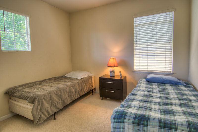A San Jose, CA sober living residence with no bunkbeds