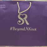 Purple Wedding Paper Bag