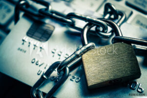 Lock Credit card