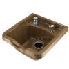 M100 Cultured Marble Shampoo Bowl