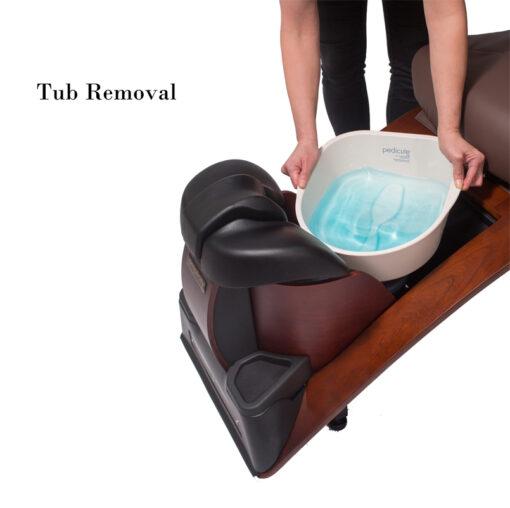 Simplicity SE Plumbing-free Pedicure Spa Tub Removal