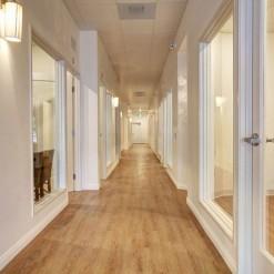Regency Salon Studio Corridor