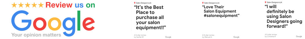 Salon Retail Displays