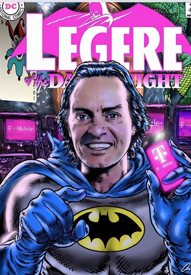 John Legere Batman Cartoon