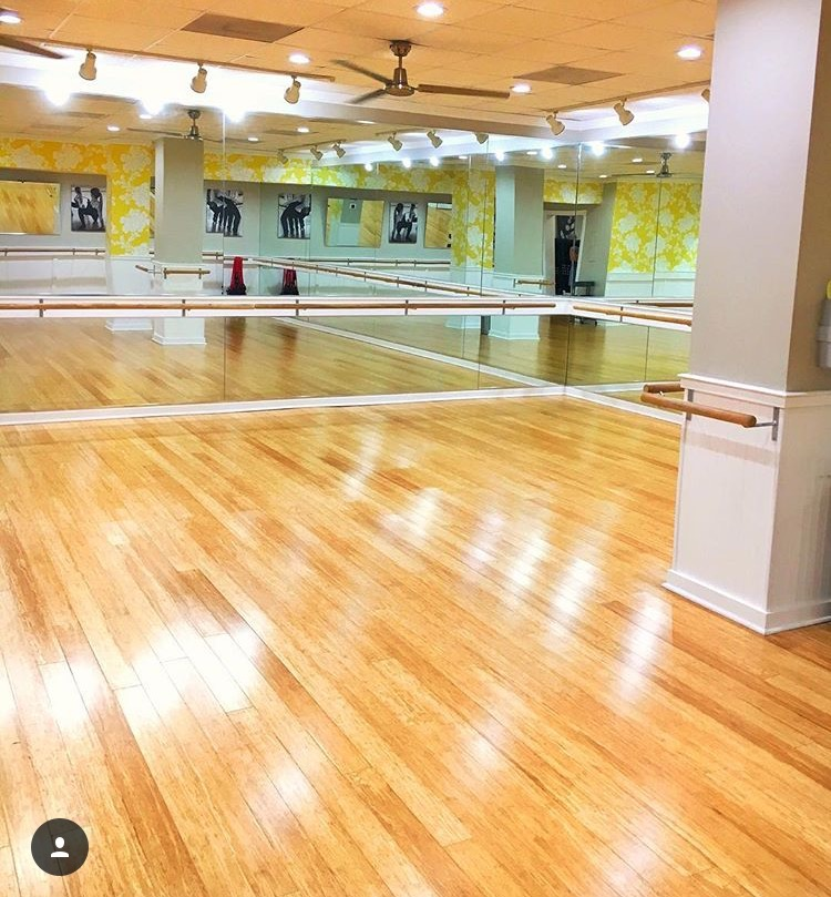 This is my sanctuary...I am a barre babe!