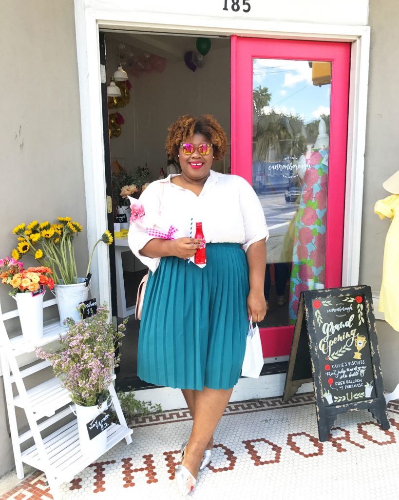 Ireana visited Cannonborough Collective, a new boutique in Charleston, SC owned by our nearest and dearest!