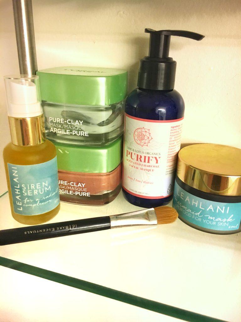 My Skin Care Stash!