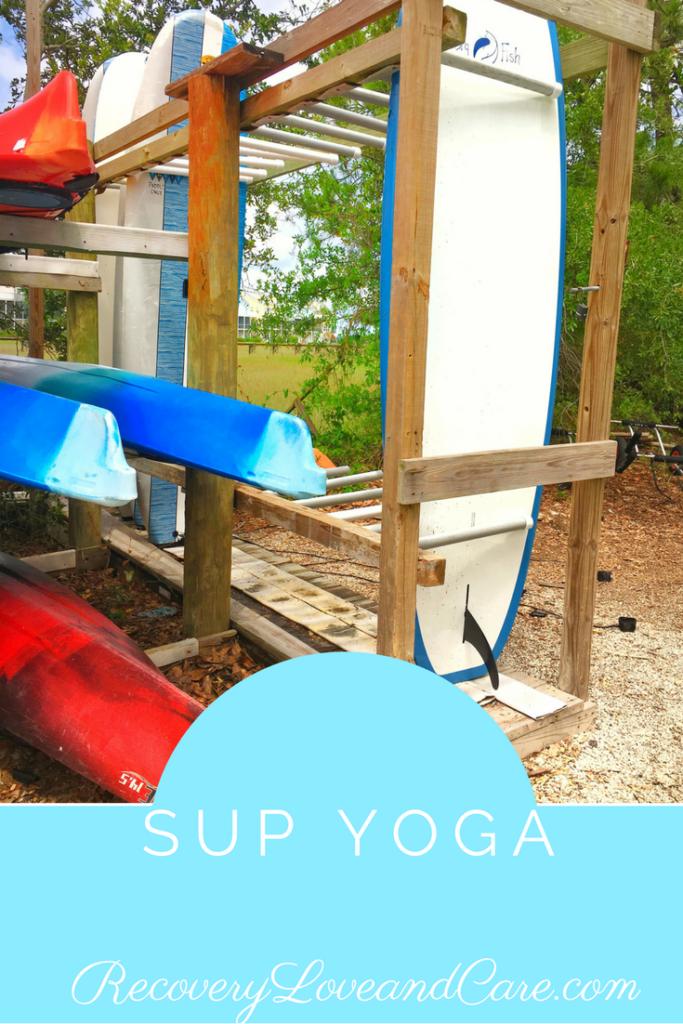 SUP Yoga in Charleston, SC!