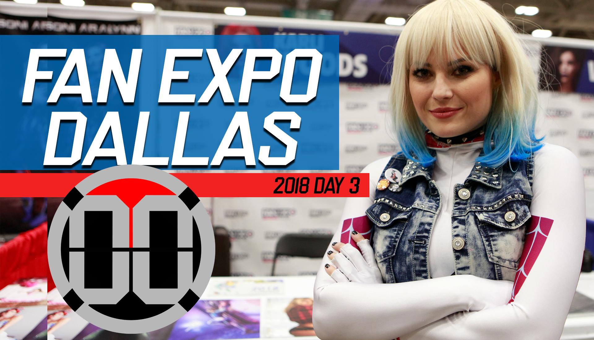 Fan Expo Dallas 2018 Day 3