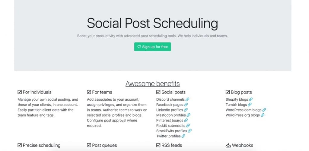 Best Free Social Media Management Tools for 2021