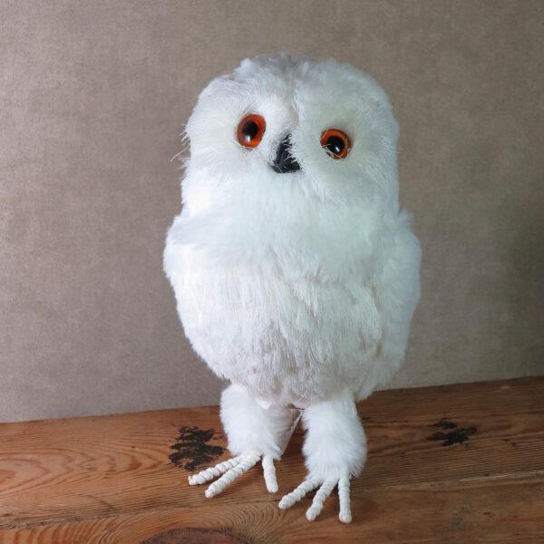 large snowy owl home decor winter