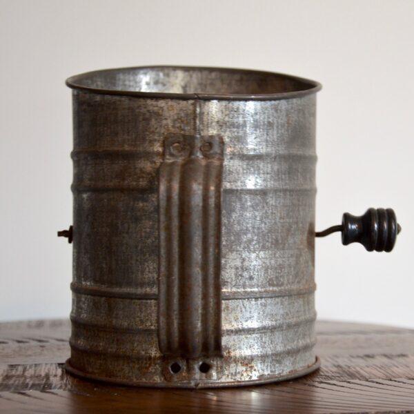 Antique Metal ACME Flour Sifter Handle