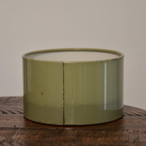 Green Coffee Tin Back