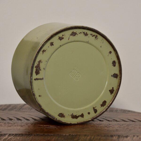 Green Coffee Tin Bottom