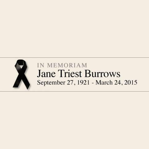 Jane Burrows RIP