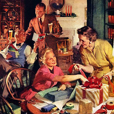 A Mid-Century Holiday Tradition