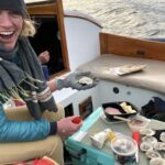 oyster sail | day sailing in maine
