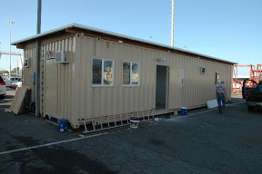 40 x 16 Break Room with Roof