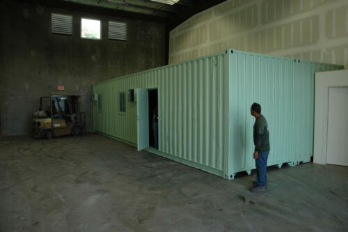 Double Wide 16 x 40 Warehouse Office