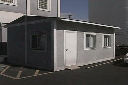 Double Wide 24 x 16 Office Space