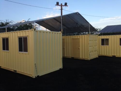 Transitional Center Shelters 20 x 8