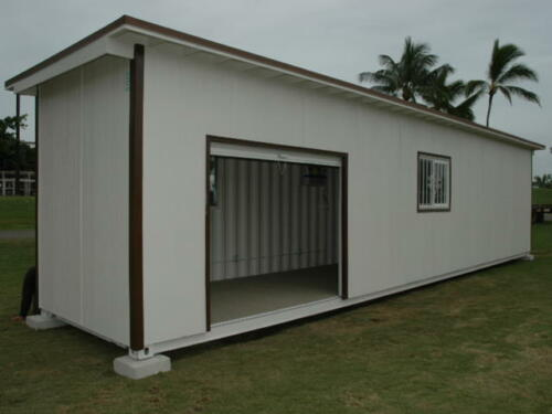 Training Facility with Roof & Siding