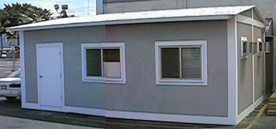 24 x 16 Office with Stucco Exterior