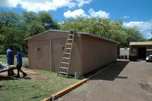 Double Wide Condo Storage Workshop