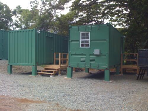 Combination Storage Restroom Modules