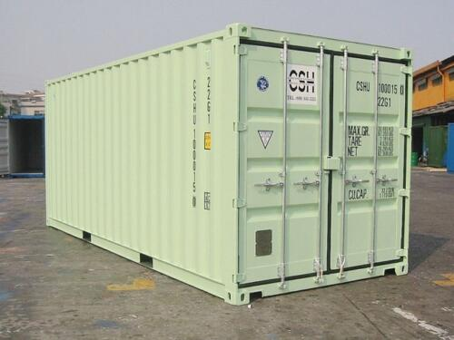 20' New (One Trip) Container