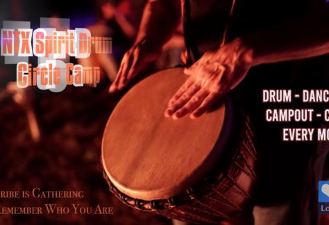NTX Spirit Drum Circle Camp