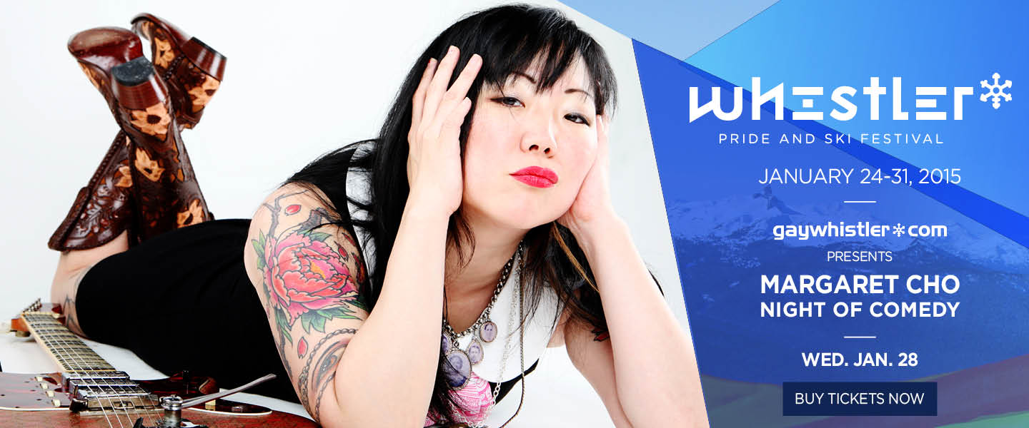 Whistler Pride presents Margaret Cho Night of Comedy