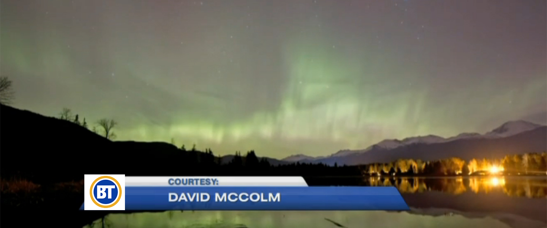 Northern Lights at Whistler, BC, Canada