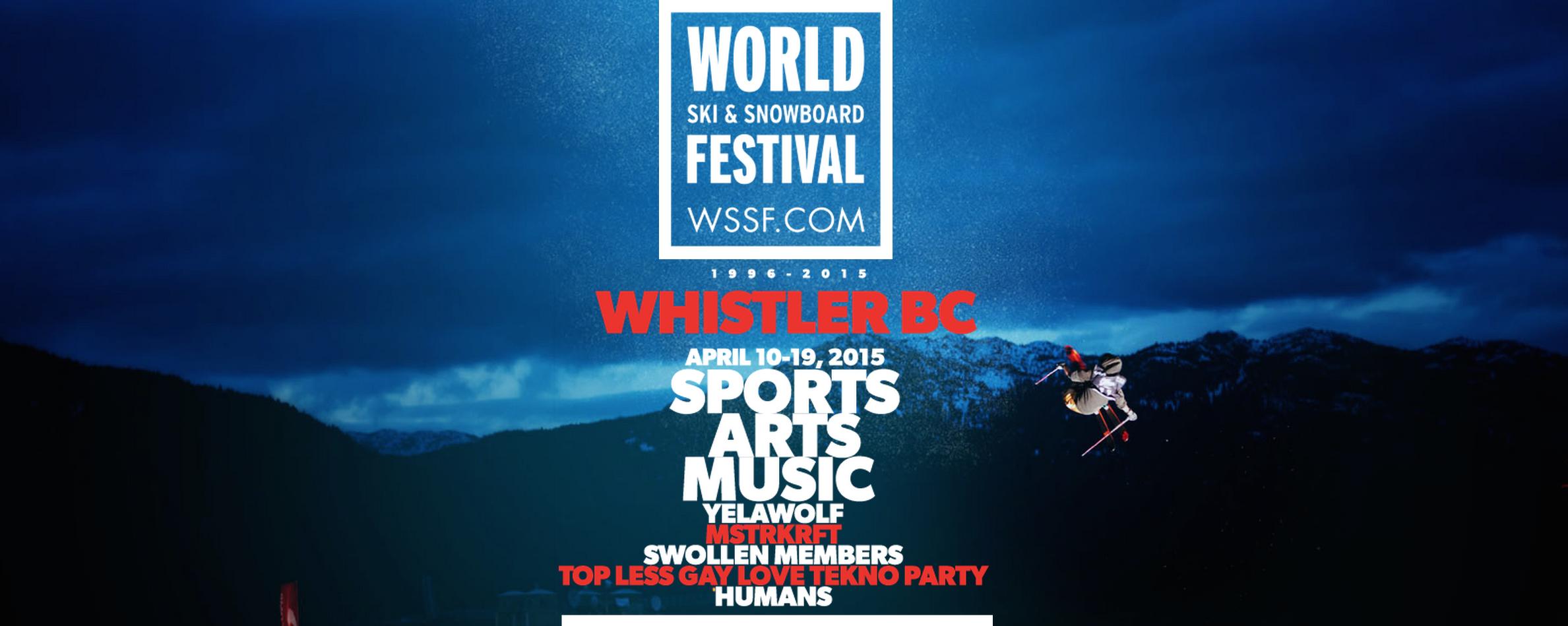 WSSF World Ski and Snowboard Festival