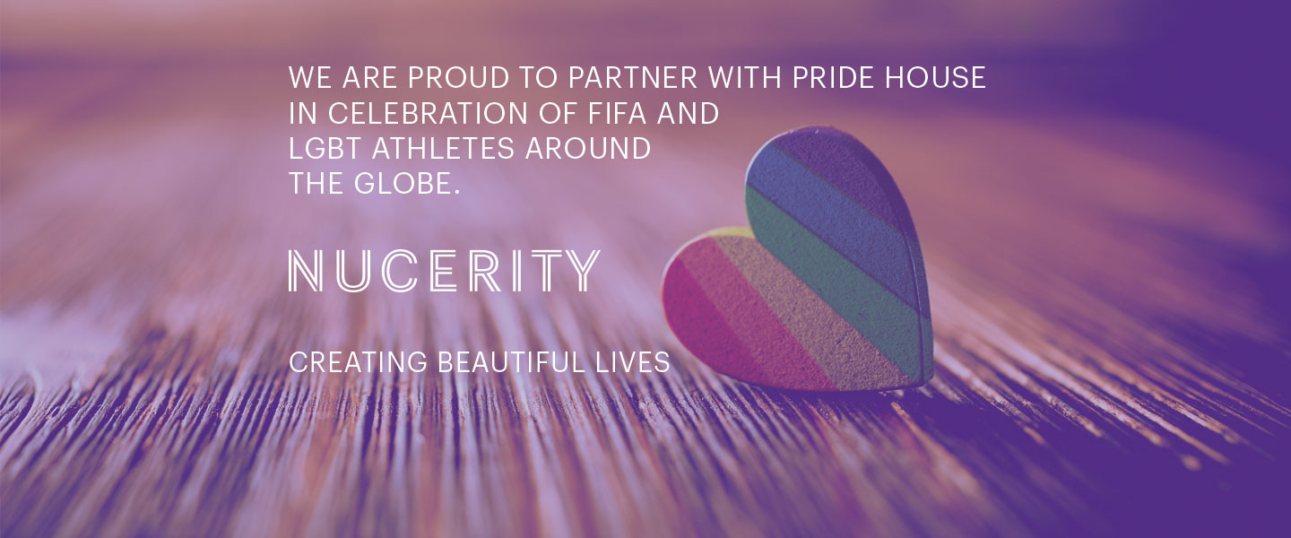 nucerity proudly supports pride house at the FIFA WWC