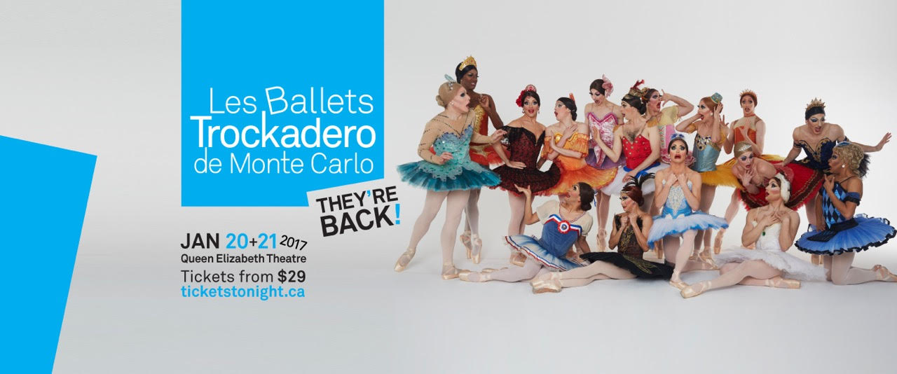 Les Ballets Trocadero de Monte Carlo at Whistler Pride