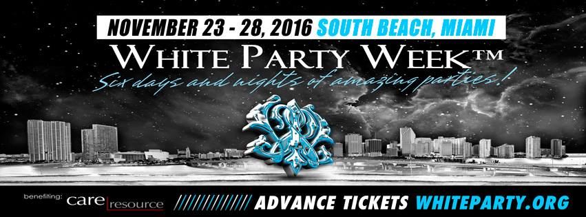 White party week Miami, FL