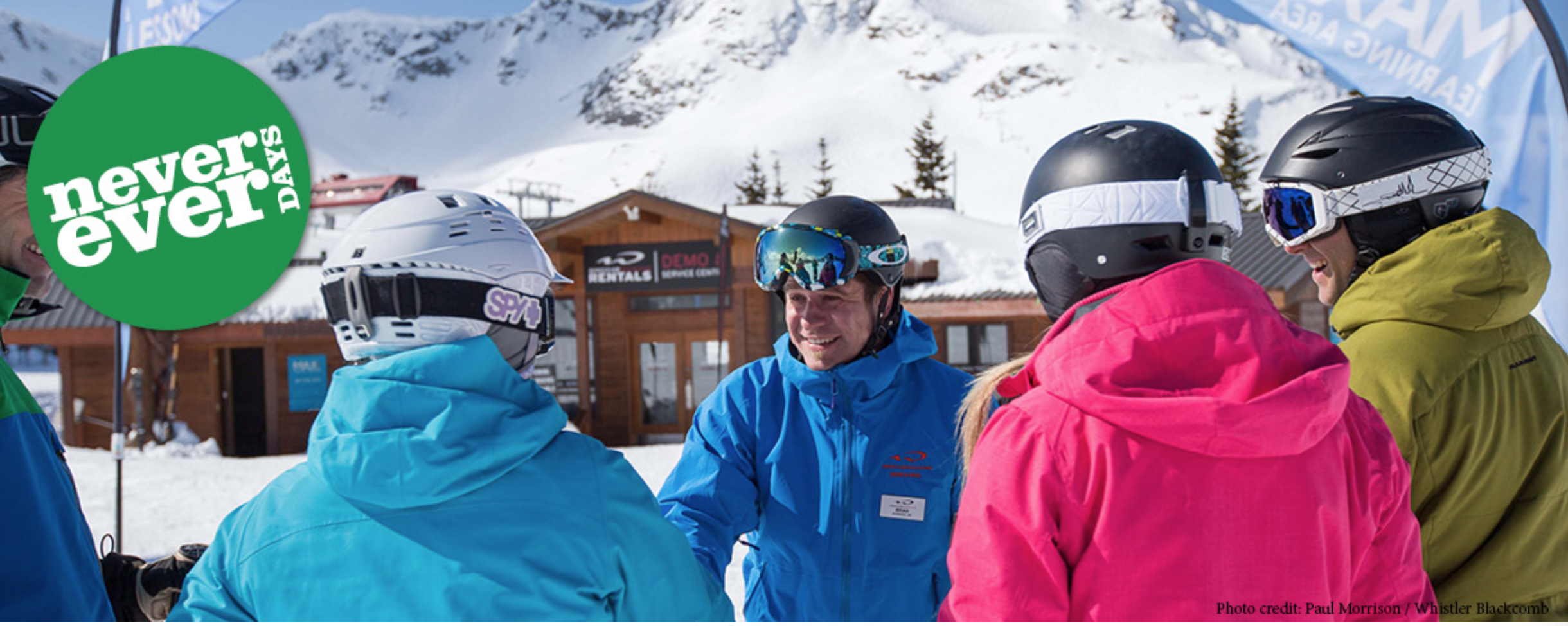 Learn to Ski - Never Ever Days Dec. 10-11 at Whistler Blackcomb