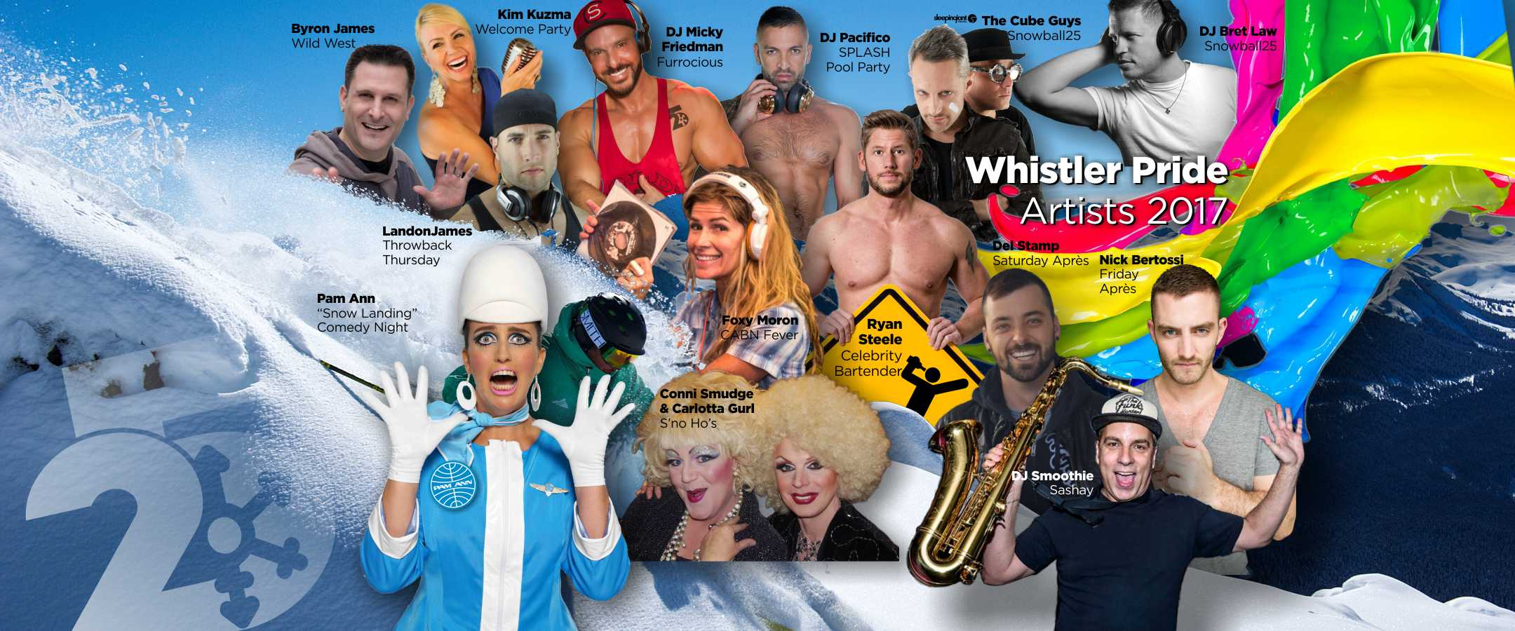 WhistlerPride25 Talent