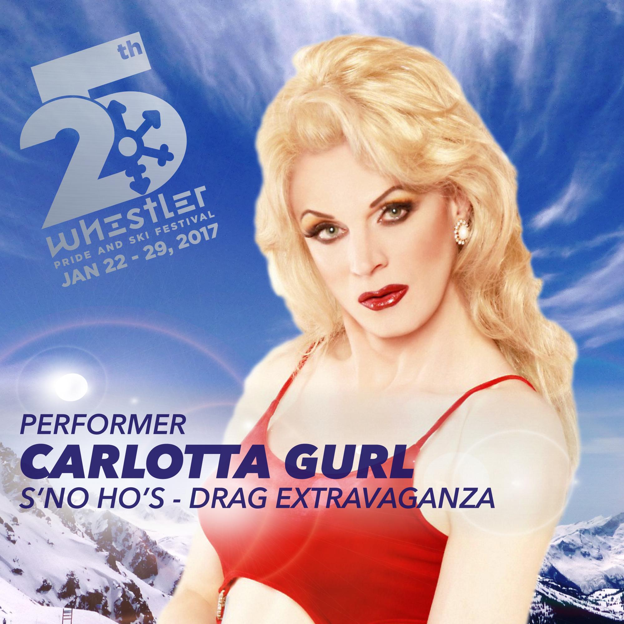 Carlotta Gurl returns to Whistler Pride 25