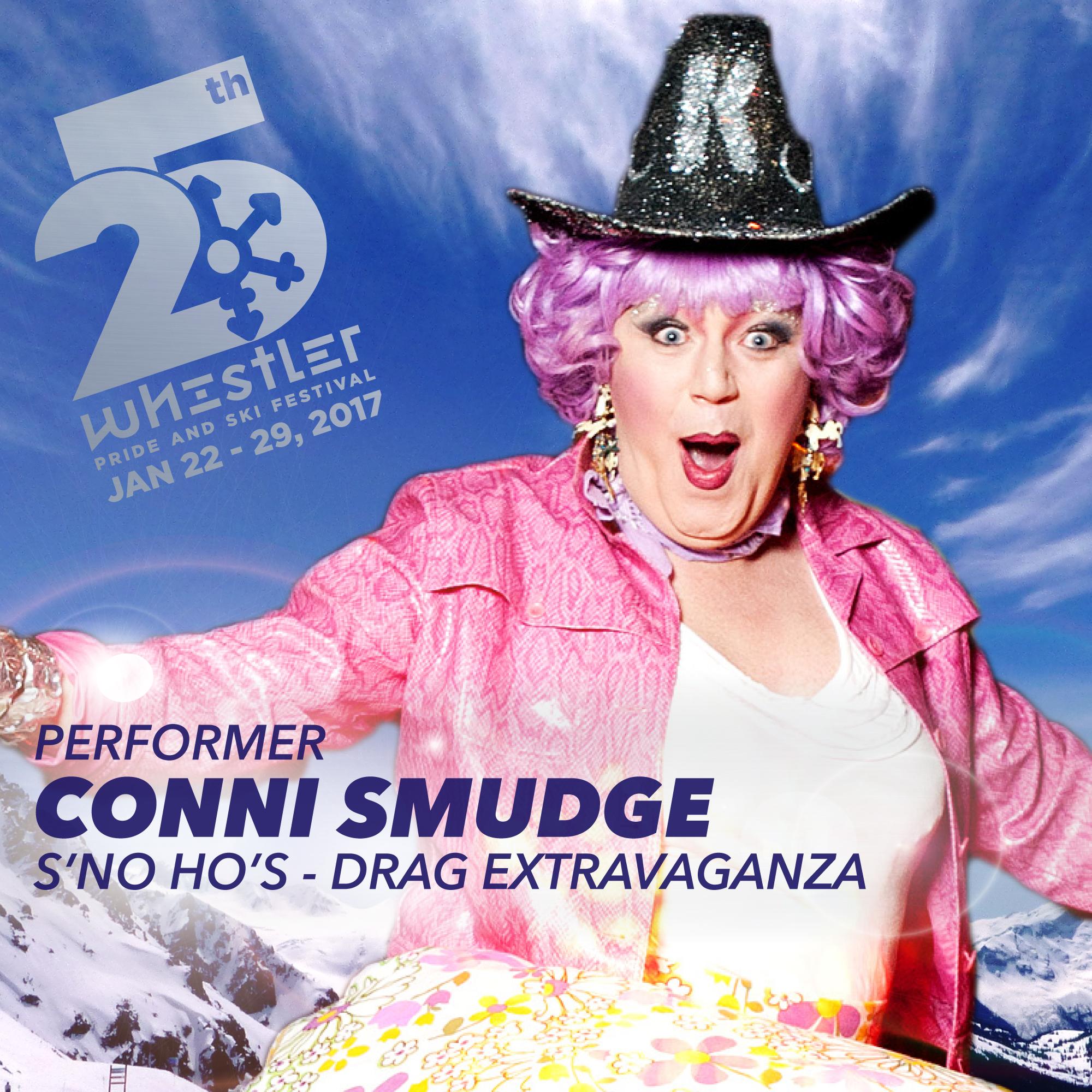 Conni Smudge 2017 at Whistler Pride