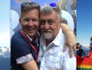 Gilbert Baker - Whistler remembers Orlando reflection