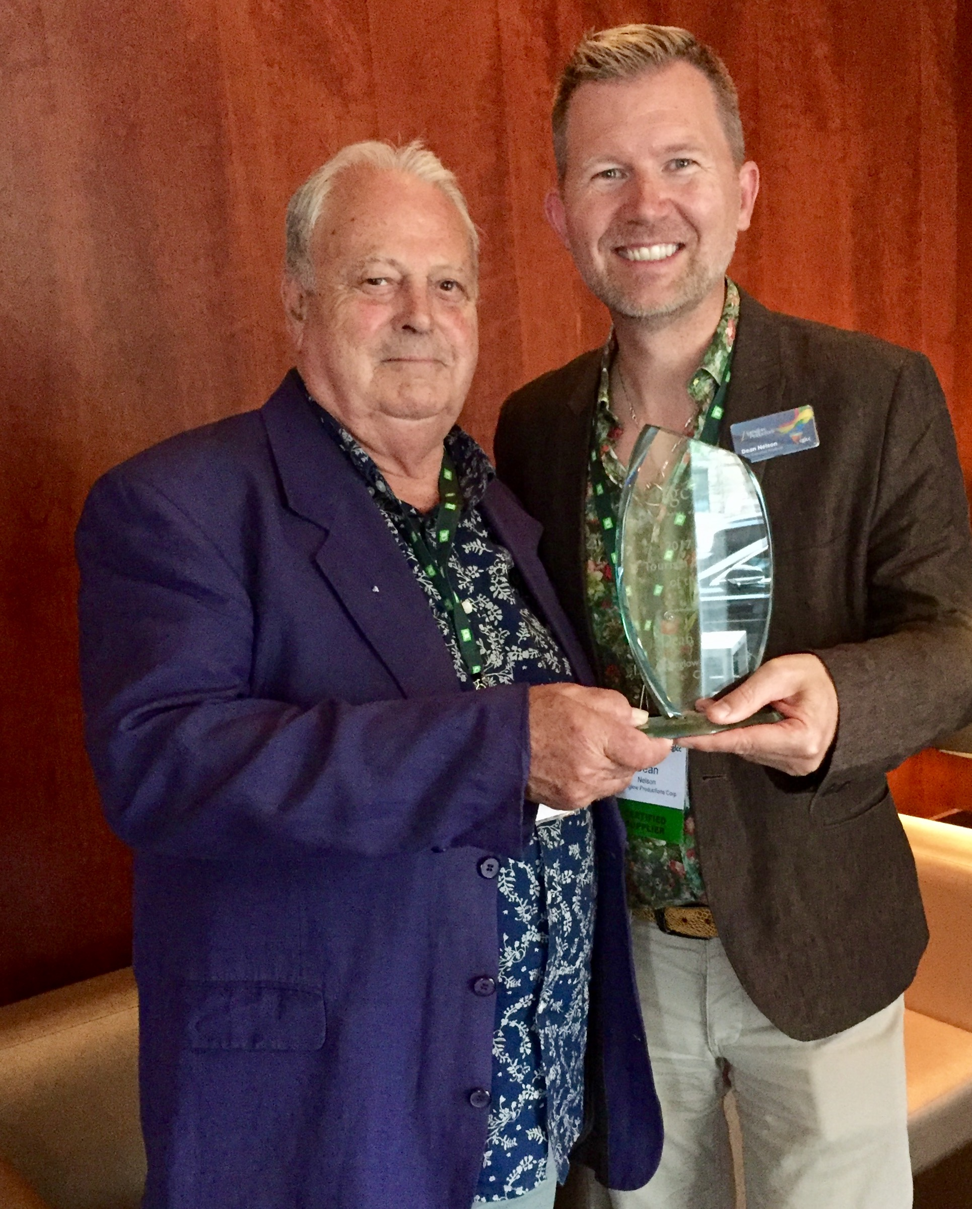 Dean Nelson LGBT Tourism Leader of the Year