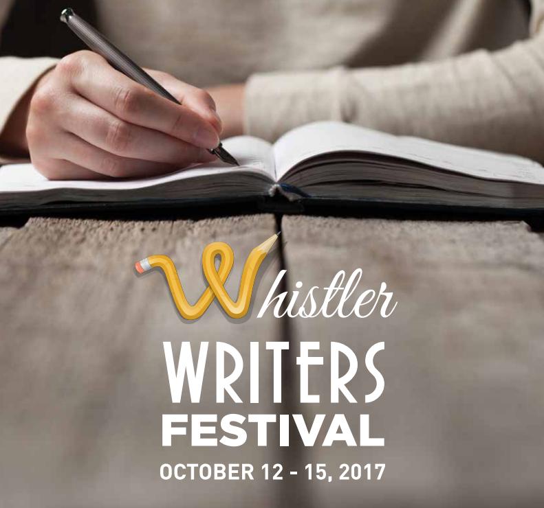Whistler Writers Festival Oct 12-15, 2017
