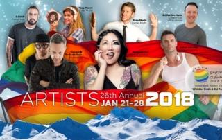 Whistler Pride Artists 2018