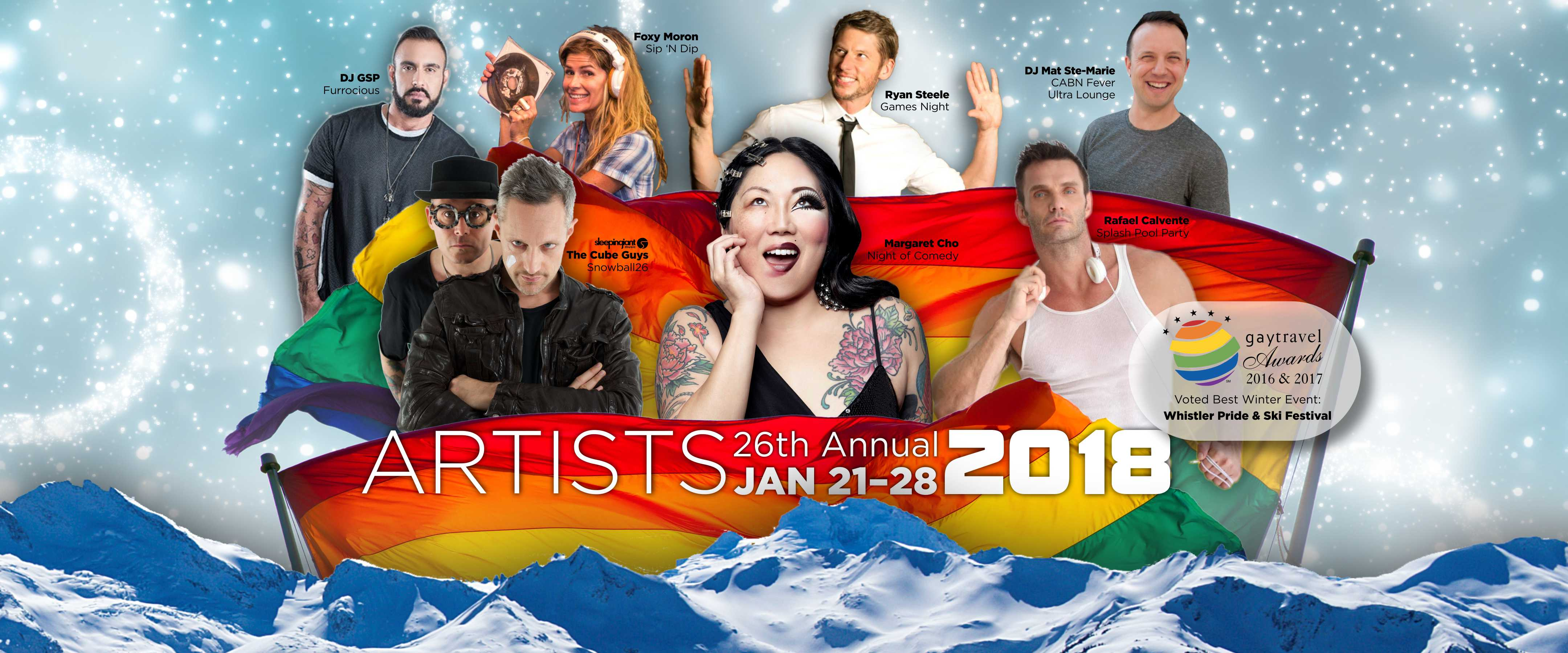Whistler Pride Artists 2018