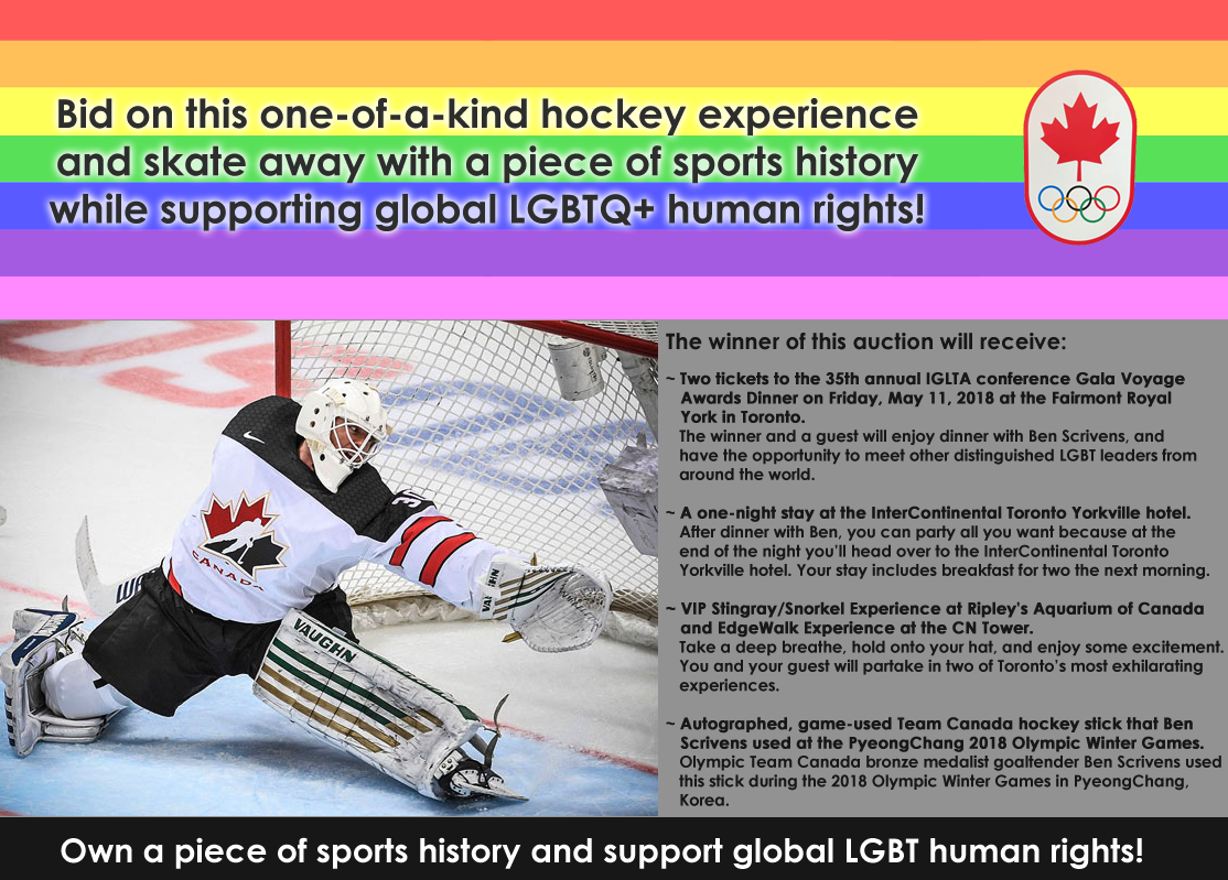 Bid on Hockey History Pride House Auction