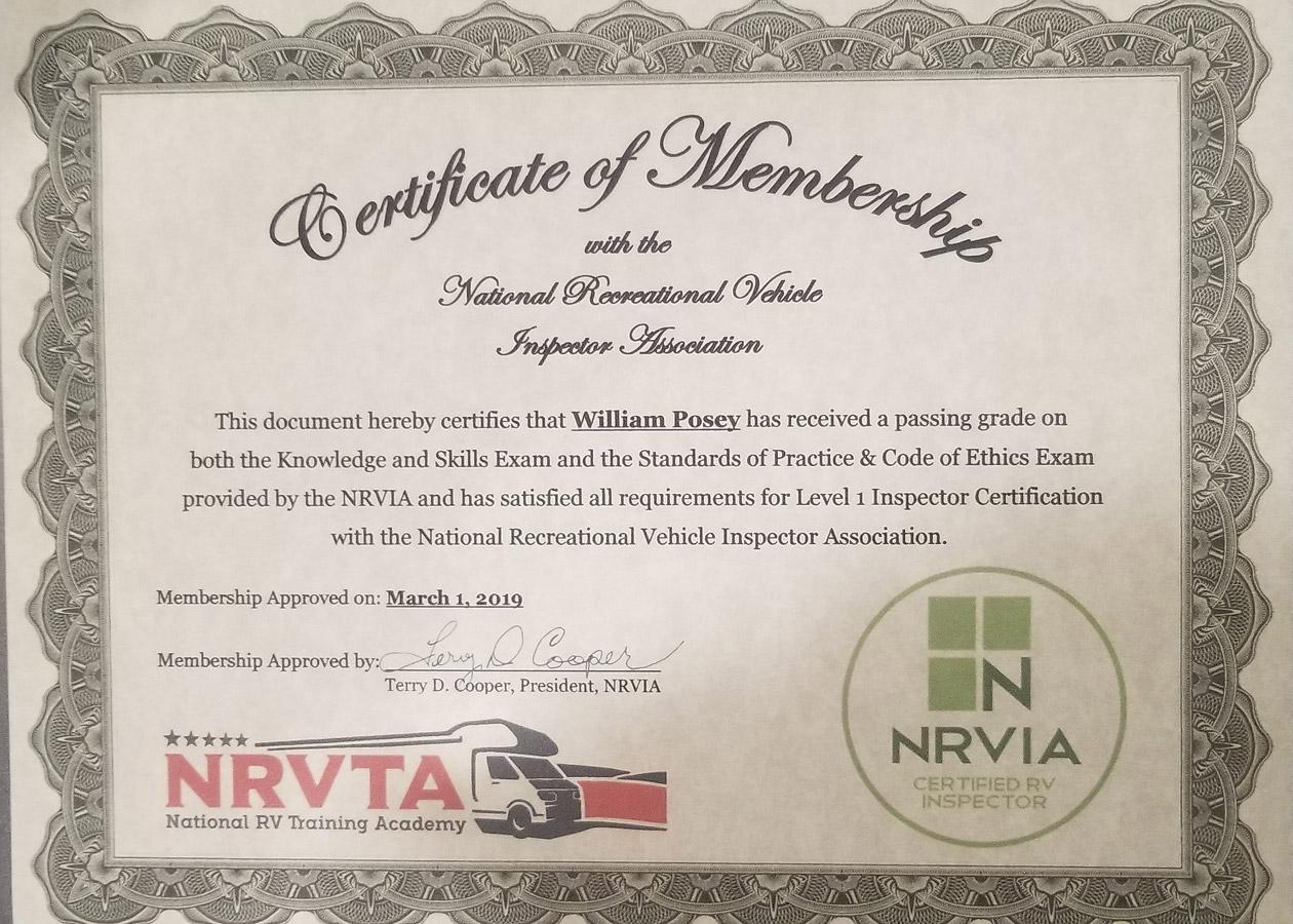 Cert-NRVIA-Membership-Bill-Posey