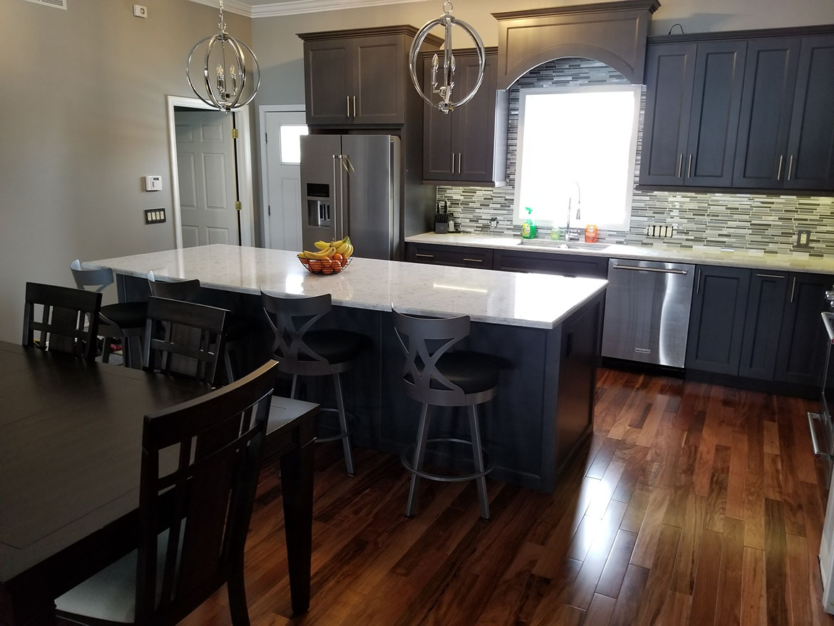 Blue/Gray Kitchen