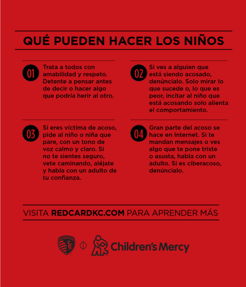 What Kids Can Do Tip Card Spanish Version